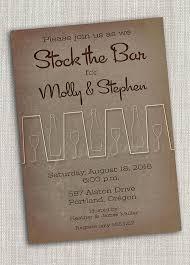 stock the bar shower retro stock the bar printable invitation wedding
