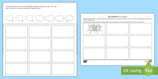 comic strip template free printable comic book templates