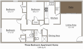 apartments with 3 bedrooms apartments floor plans 3 bedrooms apartment with pool 2018
