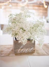 baby s breath centerpiece 68 baby s breath wedding ideas for rustic weddings deer pearl