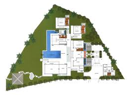 villa house plans floor plans waterfront villa house plans homeca