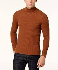 mens turtleneck sweater i n c s ribbed turtleneck sweater created for macy s