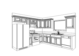 shaped kitchen layout 1 u2013 kitchen design layout with island