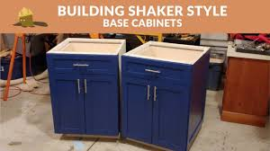 what is shaker style cabinets how to build shaker style kitchen base cabinets