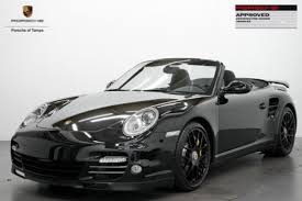 porsche 911 for sale in florida porsche 911 turbo s cabriolet awd in florida for sale used cars