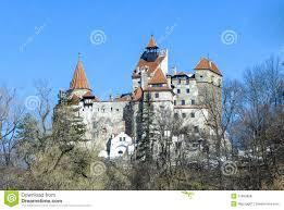 Vlad The Impalers Castle by Bran Dracula Castle Winter Season Editorial Stock Photo Image