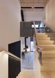 homes with floor plans attic conversion creates a warm contemporary home with floor
