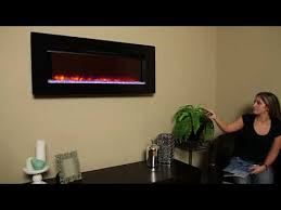 Infrared Quartz Fireplace by Classicflame Black Glass Frame Felicity 47