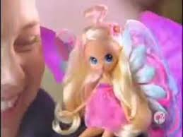 barbie blooming thumbelina doll commercial