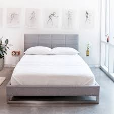 Modern Bed Frames New Sleek And Simple Gus Modern Beds Kw Home