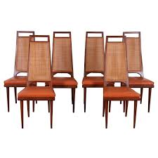 Stickley Mission Sofa by Set Of Six Mid Century Cane Back Dining Chairs By Urban Furniture