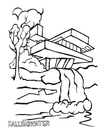 frank lloyd wright coloring pages eson me