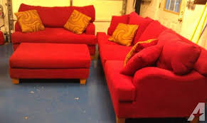 red sofa set for sale red sofa express couch set for sale in blowing rock north