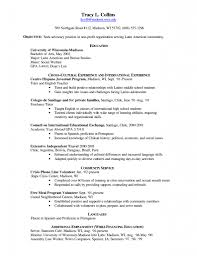 history major resume 100 resume examples for students peace corps uva career