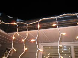 light hangers for gutters with mesh or perforated gutter
