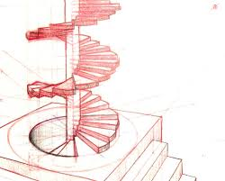 staircase plans drawing steel quote homelk com spiral staircases