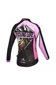 road cycling jacket monton women u0027s long sleeve road tiger cycling jersey womens