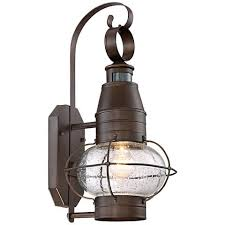 Outdoor Wall Sconce With Motion Sensor Galt 19 3 4