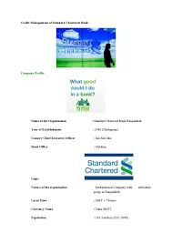 credit management of standard chartered bank by md papon issuu