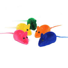 cat toy realistic fur mice mouse cat toys squeak squeaker rubber