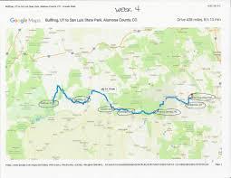 Cortez Colorado Map by Itinerary U0026 Maps Teen Trekker Tucker Cullen