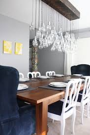 Dining Room Chandelier Lighting Diy Rustic Industrial Chandelier This Looks Similar To One I Saw