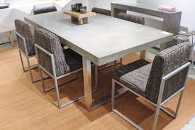 concrete top dining table 83 spectacular dining table desk solid concrete slab top stainless