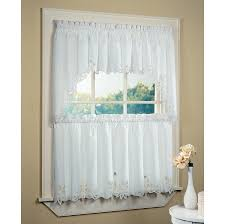 Kitchen Window Curtains Ikea by Kitchen Accessories Gorgeous Plain White Fabric Kitchen Cafe