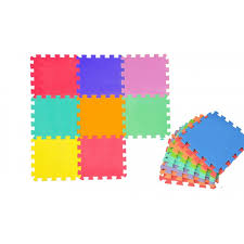 tappeti puzzle puzzle bimbi 10 pz colori assorititi cigioki