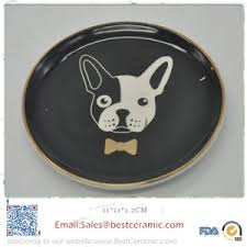 ceramic dog ring holder images Porcelain swan ring holder jpg
