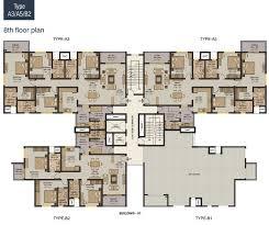 grandeur 8 floor plan 3bhk apartments in pune luxury flats on nibm kondwa pune