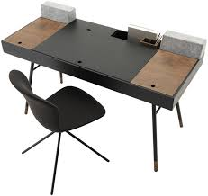 bureau boconcept mdf desk contemporary with storage cuperlino boconcept