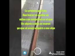 como poner imagenes que se mueven en un video como poner emojis que se mueven en un video para snapchat tutorial