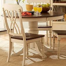 Country Dining Room Sets by Amazon Com Tribecca Home Mackenzie 5 Piece Country Antique White