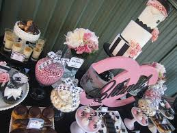 chanel baby shower chanel sweet sixteen baby shower ideas themes