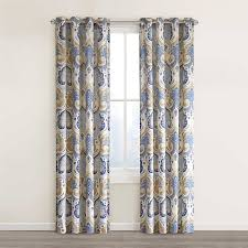 Blackout Curtains Bed Bath Beyond Amazon Com Echo Design Jaipur Window Curtain 50 X 84