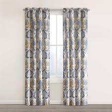 Blackout Curtains Bed Bath Beyond Amazon Com Echo Design Jaipur Window Curtain 50 X 84