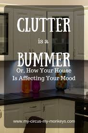 best images about home kitchen pinterest orange clutter your house can cause mood plummet and changes how people perceive