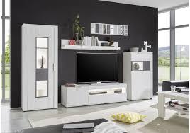Wohnzimmerschrank Folieren Wohnwand Pinie Weiss Matera Woody 16 00737 Woody Möbel