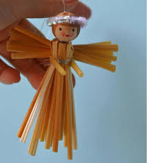 simple straw diy angel ornament allfreechristmascrafts com