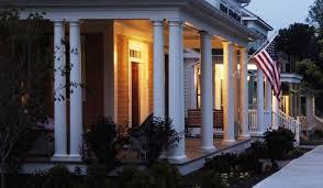 hb u0026g permacast fiberglass porch columns round u0026 square