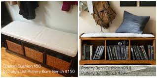 Bench Seat Cushion Muckety Mucked Sewing Reveal Custom Bench Seat Cushion For