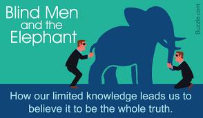 Blind Men And The Elephant Poem Interpretation Of U0027blind Men And The Elephant U0027 In Different Religions