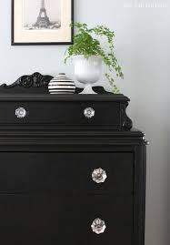 Dresser Diy Best 25 Black Dresser Makeovers Ideas On Pinterest Black