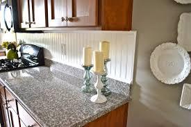 kitchen backsplash beadboard tile contemporary kitchen