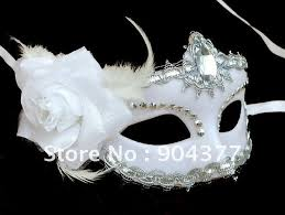 masks for masquerade party white masks for masquerade feather plastic acrylic diamond