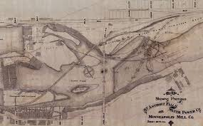 Map Of Minneapolis The Minneapolis Riverfront An Underground History