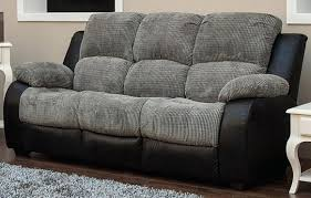 cloth reclining sofa grey fabric reclining sofa sectional with drop down table pulaski
