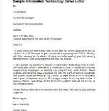 majestic design information technology cover letter 6