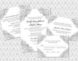 wedding invitations ni wedding invitation enclosures template best template collection